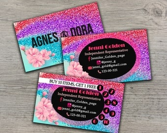 Agnes and Dora business card, Agnes Dora marketing, Agnes and Dora cards, Agnes Dora card, Agnes business card, Agnes Dora printable!