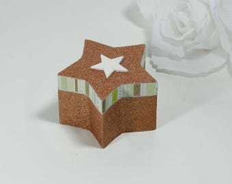 "Jewelry box, ""Star light"" rings"