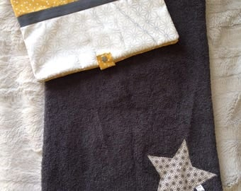 diaper bag / diaper and changing mat cover mobile to order