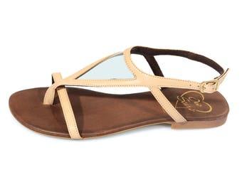 Low Heel Thong Sandal