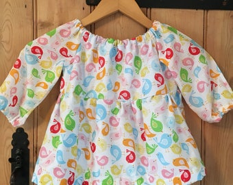 Lucy and Lola Handmade Smock Top