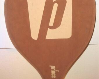 Vintage Tennis Racket: Prince Woody & Suede Cover