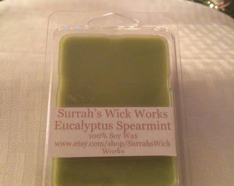 Eucalyptus Spearmint Soy Wax Melt