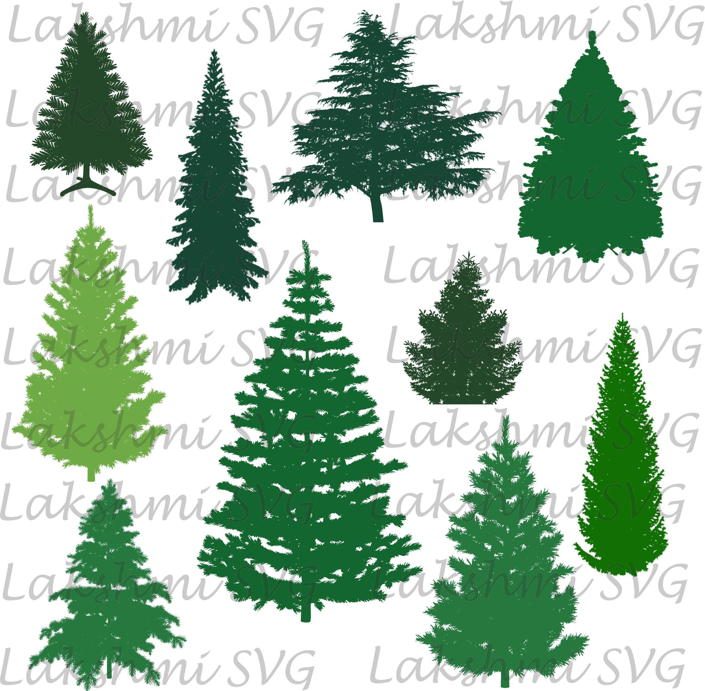 Download Christmas tree Svg, pine tree svg Cut Files, Tree ...