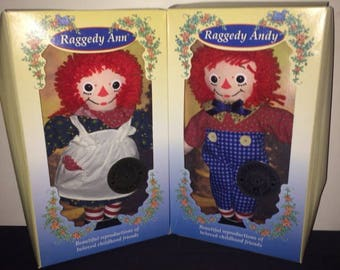 Dolls - Rare Set of Raggady Ann and Andy. Dolls are new in Box. Box has some issues, please see pictures.