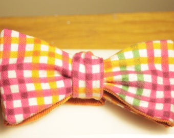 Bow Tie / Bow Ties for Men / Boys Bow Ties / Christmas Gifts for Co Worker / Purple Bow Tie / Self Tie Bow Tie/ Handmade Christmas Gift