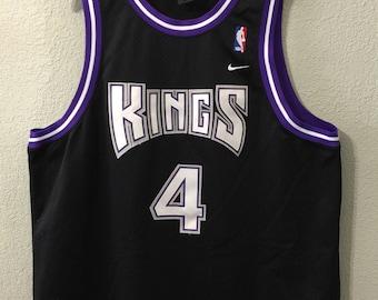 ... Jersey Sacramento Kings Chris Webber Nike Swingman Size 2XL Vintage  Williams NBA Authentic Jason Williams Memphis Grizzlies Jersey Road Black 56  Reebok ... dbc542079