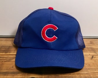 Chicago Cubs Baseball Cap Hat Snap Back Trucker Hat NLB