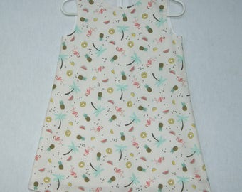 Lined 3-4 years old Palm Beach girl dress.