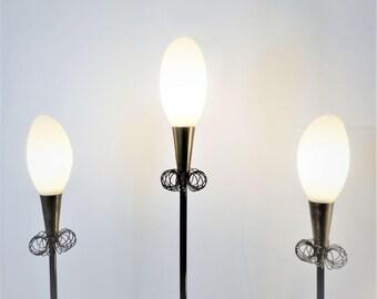 Tripod floor lamp 1950's - 1950's tripod floor lamp