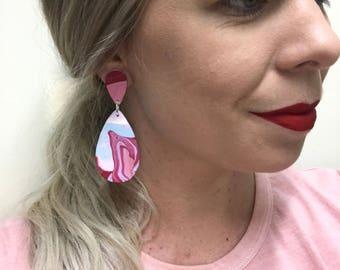 Premo Clay Earrings - Jewel Drop 'Arizona Collection'