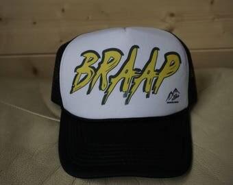 Braap Trucker Hat, Trucker Hat, Custom Trucker Hat, Hats, Caps,