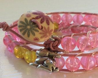 Handmade Easter Bunny Bracelet