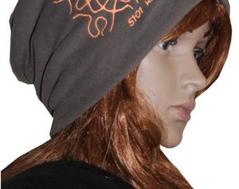 Snood Cap made in France 5101 hz fleece and customizable