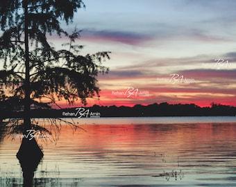 Camp Challenge Sunset Photo