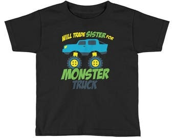 Monster trucks - Big brother shirt - Big brother shirts - Future big brother - Big brother 2017 - Little brother