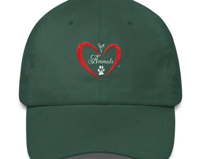 Heart of Love for Animals - Classic Cap