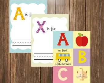 "Baby's First Alphabet Book (8.5x11"")"