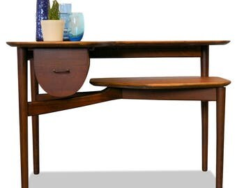 Danish design teak side table from the years 50/60