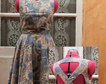 Vintage fifties cut dress