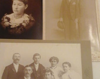 Antique  photo miscellaneous  bundle