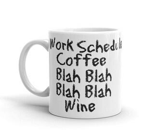 Mugs With Sayings, Coworker Gift, Funny, Coffee Mug, Secretary Gifts, Secretary Mug, Teacher Appreciation, Teacher Gift, Mugs for Mom, Xmas
