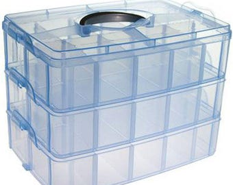 Delivery packaging boxes storage boxes jewelry blue SKU008188