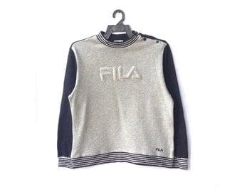 Fila Big Logo Spellout Sweatshirt