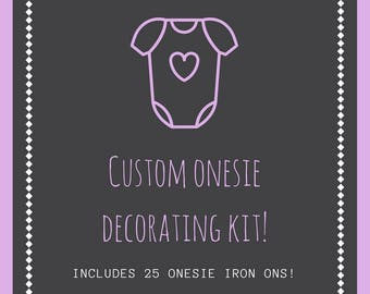 Onesie Decorating Kit