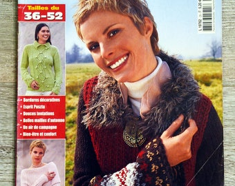 Elena 25 knitting magazine - knitted for her