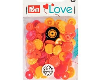 21 pressure/flowers COLOR PRYM 393080 SNAPS