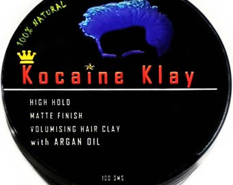 Halloween Gifts For Men Natural Hair Clay 100 Grams