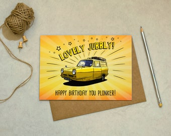 Only Fools And Horses - Happy Birthday You Plonker! Delboy - Birthday Card