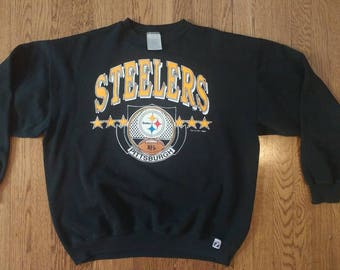 Vintage 90's NFL Pittsburgh Steelers XL sweater