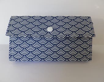 Japanese motif jewelry pouch