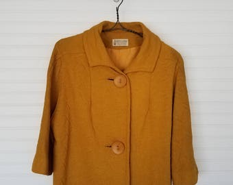Vintage 1960s Mod Knit Jacket from Koret of California