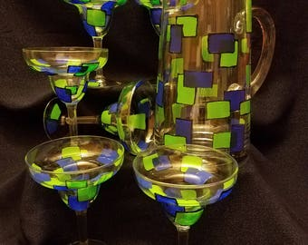 Blue Friday Margarita Five Piece Set