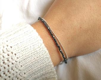 hematite Silver 925 bracelet