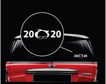Bernie Sanders 2020 Car Window Decal Sticker
