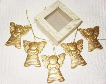 Christmas Angels gold Teddy bear