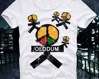 T Shirt OLODUM Requebra Samba Reggae Salsa Drums Retro Vintage Brasil Brazil Salvador de Bahia