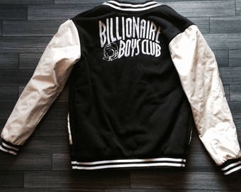 Billionaires Boys club letterman jacket bomber Size M-XL