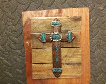 Cross on Wood