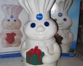Pillsbury Doughboy Holiday Cookie Jar