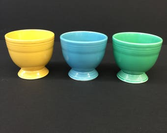 Vintage Fiesta Egg Cups (3 Available)