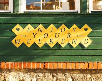 Buchstaben Girlande - Party, Freizeit & Wochenende