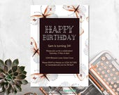 Butterfly Invitation, Hap...