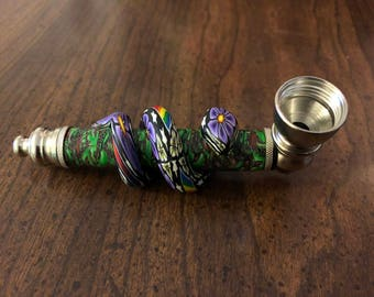 Beautifully Crafted Aluminum Snake Pipe