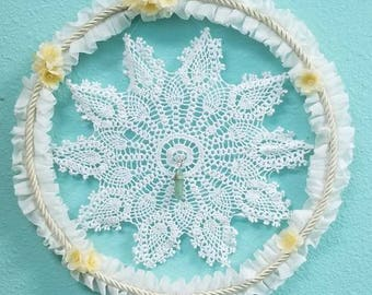 Lace and Floral Wall art