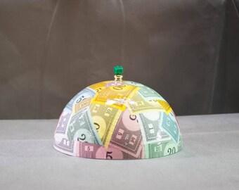 Monopoly Lamp Shade, board game shade